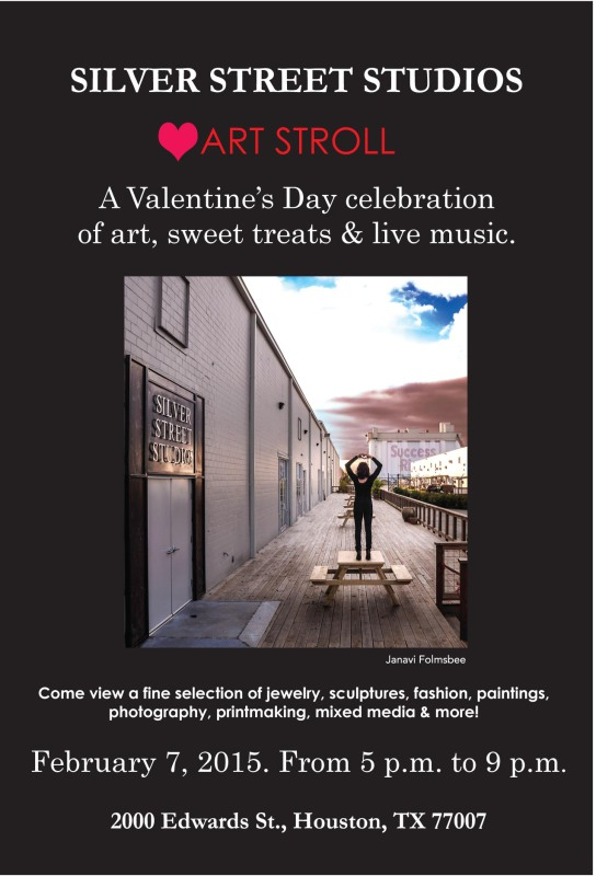 Art stroll valentines party front